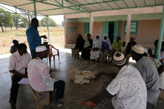Audit meeting in Nefrelaye