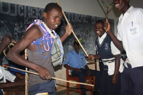 A cultural heritage club in Mbale, Uganda