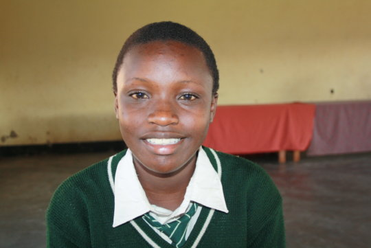 Milly, a Heritage Club member in Uganda