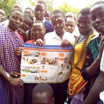 Heritage Club members in Moroto, Uganda 2018