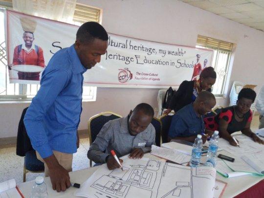 Teacher training in Kyotera, Uganda 2018