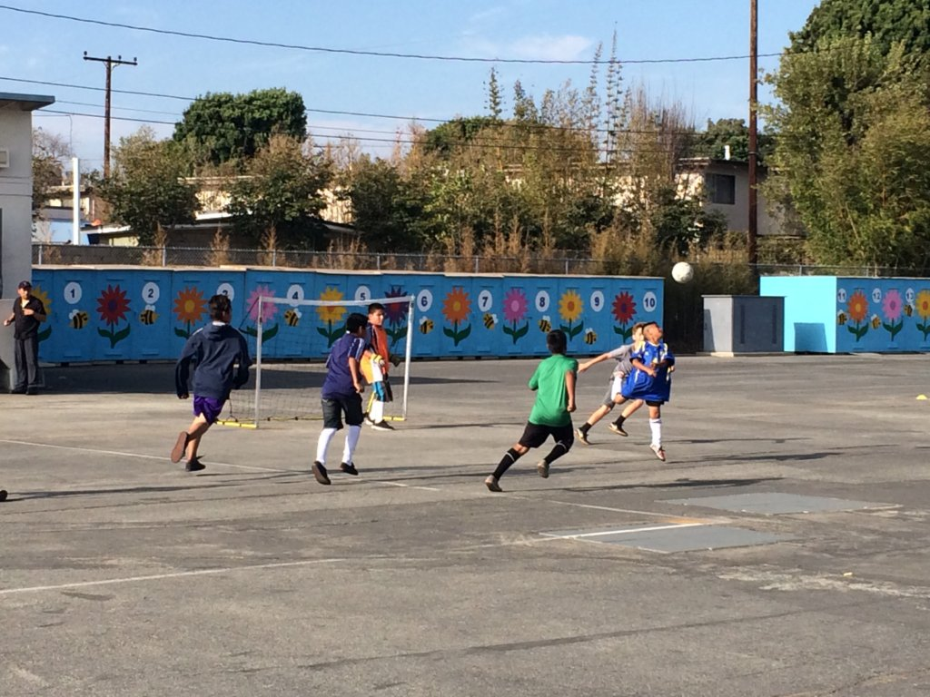 Create a Safe Place to Play Soccer for 500 LA Kids