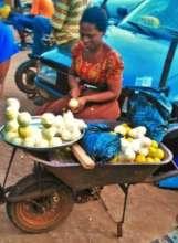 Petty street trader