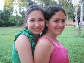 Silvani and her sister Venancia