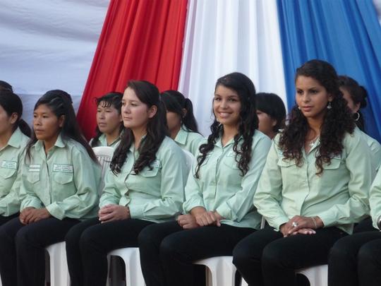 The proud graduates