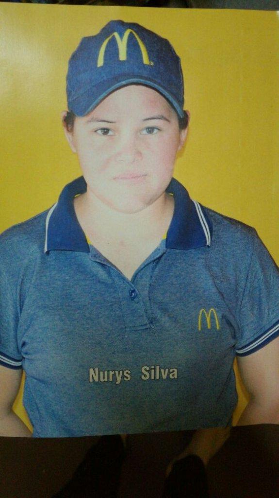 Nurys in her uniform