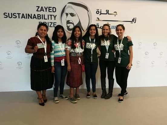 CEM students at Sustainability Week, UAE