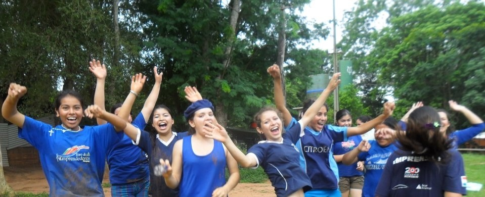 Another day at the Mbaracayu Girls School in Canindeyu, Paraguay, full of life, entrepreneurship and enthusiasm!