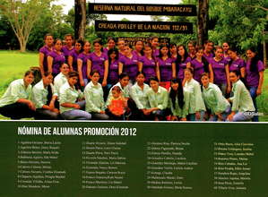 Class of 2012,Mbaracayu All Girls School,Paraguay