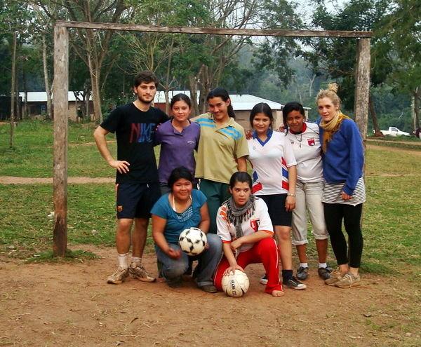 Team Paraguay!!!