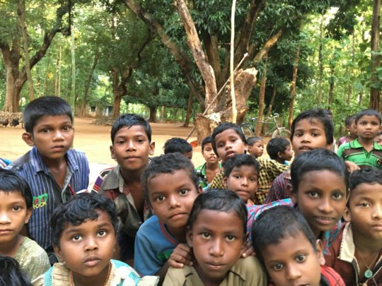 Food & education to 100 tribal children in Odisha