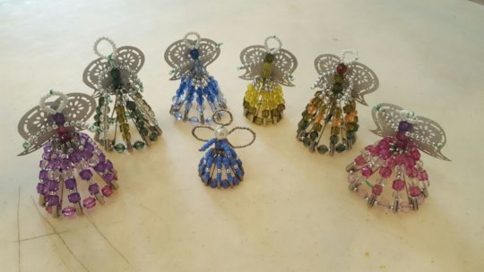 The Time Bankers' Beaded Angels