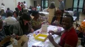 Carers taking part in Skills Exchange