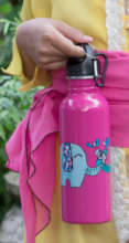 Pink bottle design