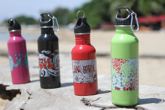 Our Student Designed Stainless Steel Water Bottles