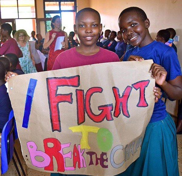 Girls LEAP in Kenya