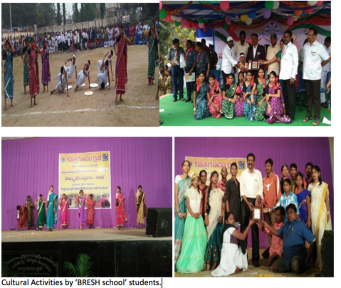 Cultural performance by differently abled children
