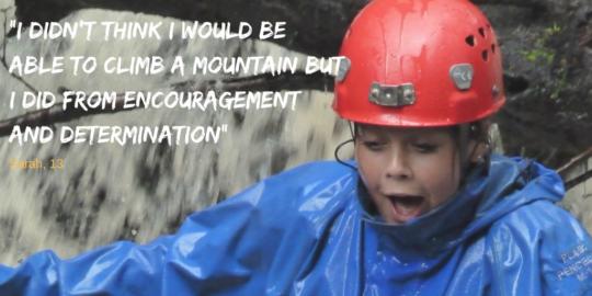 Sarah, Mountain Camp 2016