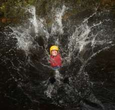 Gorge walking and waterfall jumping