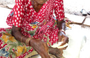 Food to 32 Starving Neglected Elderly Women