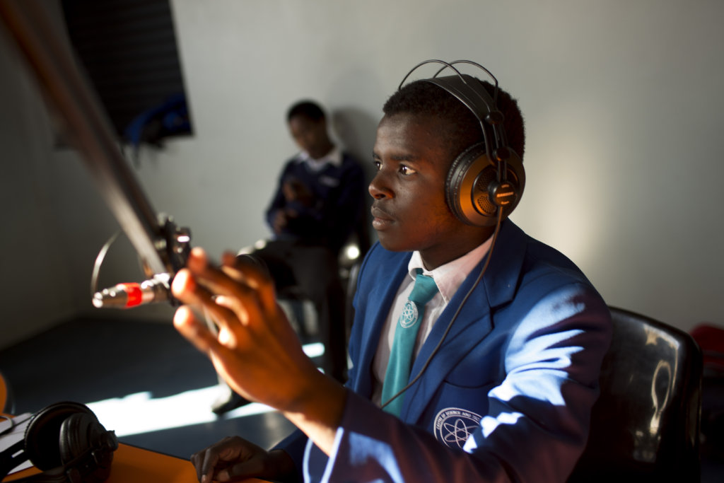 Youth Radio Dialogues on HIV in South Africa