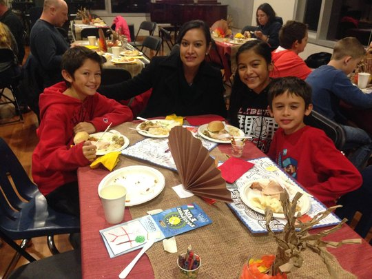 Thanksgiving Family Feast at JWR Club