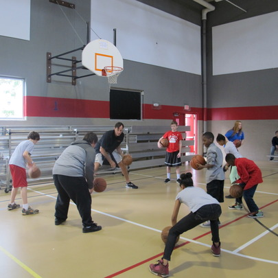 Healthy Lifestyles - Kids work with Chris Dudley