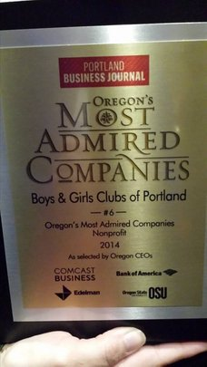Oregon's 6th Most Admired Non-Profit