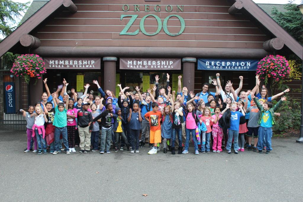 Boys & Girls Club Youth Visit the Oregon Zoo