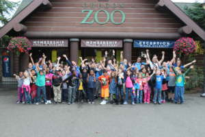 Boys & Girls Club Youth Visit the Oregon Zoo