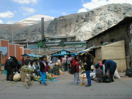 Smelter with market - credit Keith Slack