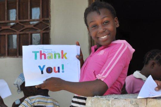 "On behalf of Wilkenson, ""Thank You"" so much!"