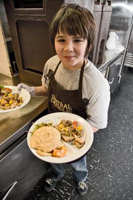 Feeding hungry kids in Oregon