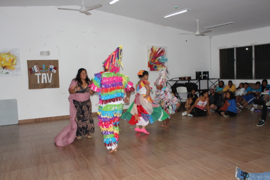 Baile tipico - traditional Panamanian dance