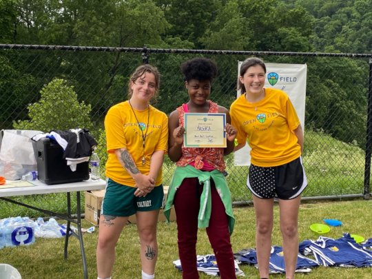 Masoka was one of the awardees this Spring