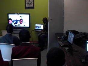 Live panel session