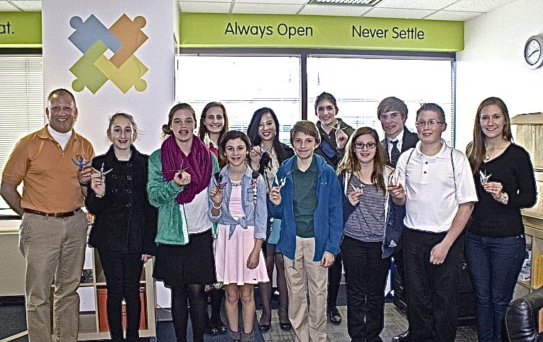 The students of Palmyra visit GlobalGiving in DC