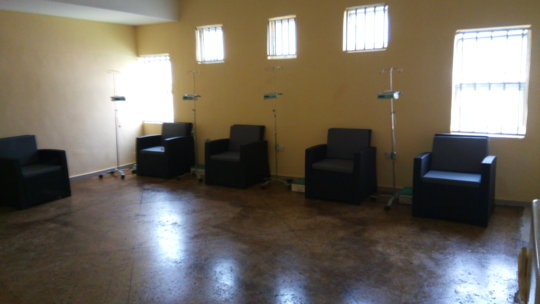 Chemo treatment room - after renovation