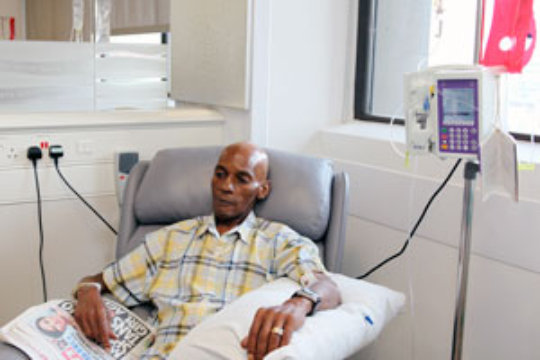 Experience we want for Chemotherapy patients