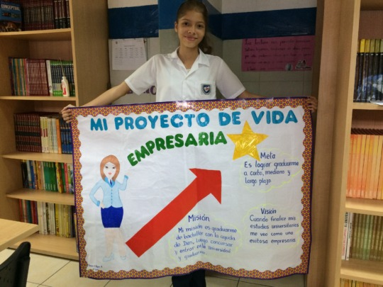 Karen's life project: becoming an entrepreneur