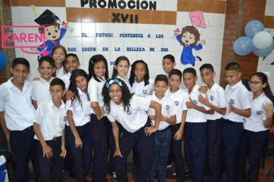 6th grade students - graduation day