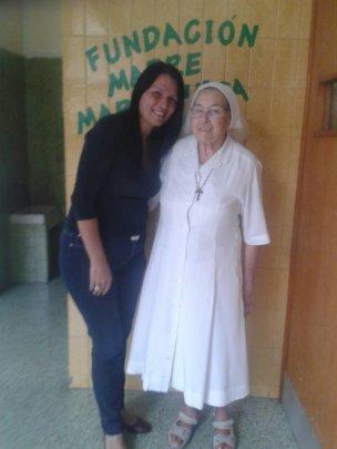 Con la Madre Maria Luisa / with Mother Maria Luisa