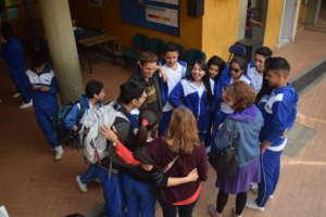After school fellowship in Lucero Alto