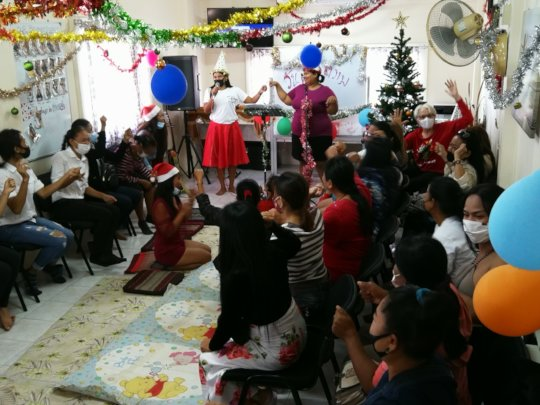 One of our Christmas Outreach Parties