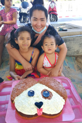 Three Birthday Kids