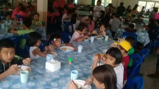 Lunch at Kids Camp