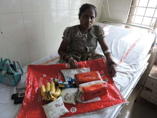 NGO helping poor patients by donating nutritious