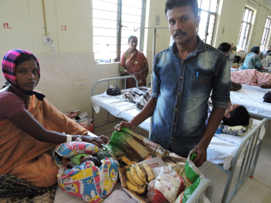 Poor patients need your donations for nutrition