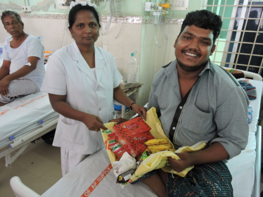 best charity in andhrapradesh serving nutritious