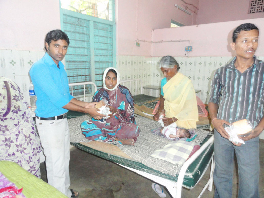 Donate Nutrition to Poor Patients in Govt Hospital